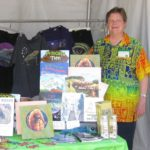 My booth at Tucson Festival of Books 2017