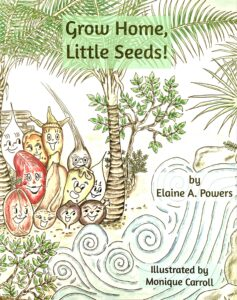 illustration of book cover Grow Home Little Seeds
