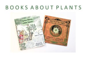 image of the covers of two plant books by Elaine A. Powers