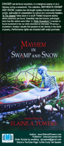 cover of theater script Mayhem in Swamp and Snow