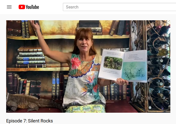I wrote Silent Rocks, but Susan Mule Gives a Dramatic Reading!