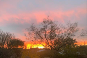 photo of sunrise in tucson az