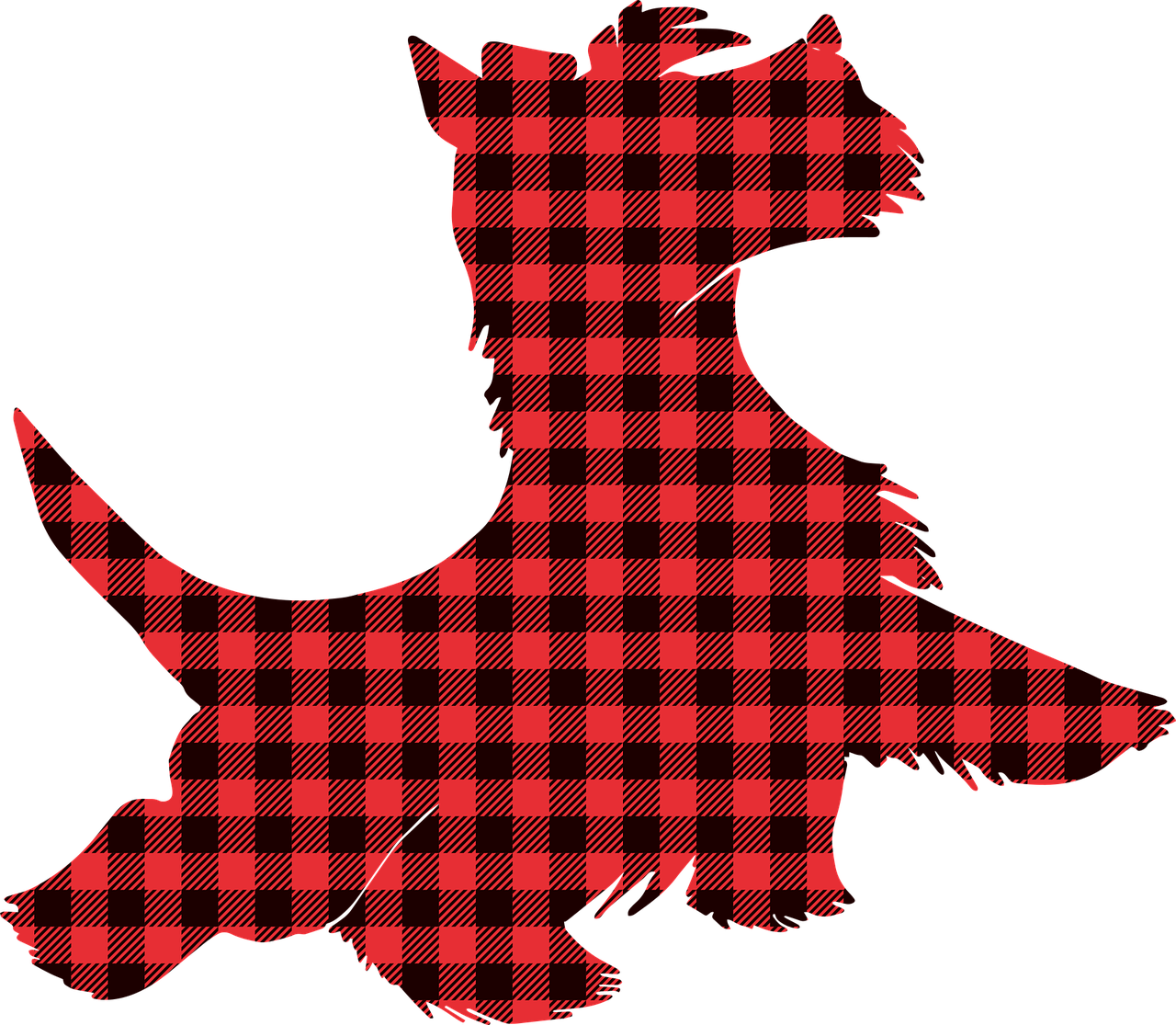 Graphic of scottish terrier