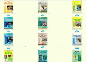 screenshot of workbook covers