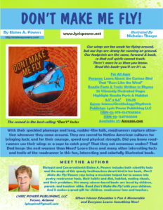 Infographic about book Don't Make Me Fly
