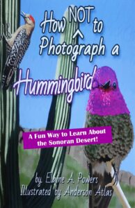 book cover about how NOT to photograph a hummingbird